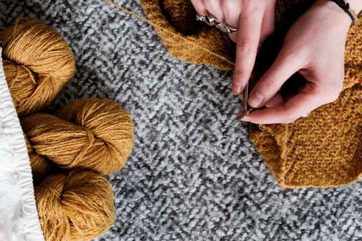 The Art of Slow Knitting